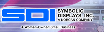 Symbolic Displays, Inc. - avionic displays, aircraft panels, illuminated keyboards and exit signs