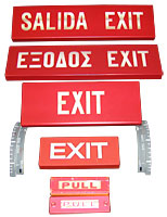 Aircraft Exit, Pull Signs